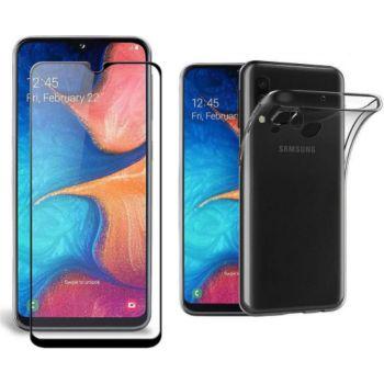 Xeptio Samsung Galaxy A10 gel tpu et full noir