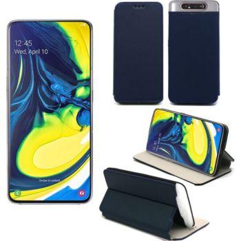 Xeptio Samsung Galaxy A80 Etui bleu Slim