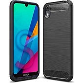 Coque Xeptio Honor 8S carbone noir