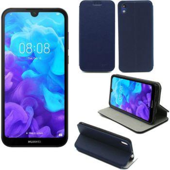 Xeptio Huawei Y5 2019 Etui bleu Slim