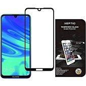 Protège écran Xeptio Huawei Y5 2019 vitre noir