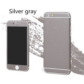 Shot Case Sticker IPHONE 6/6S Cuir GRIS