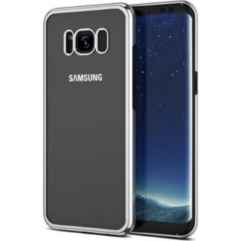 Quick Shot Coque SAMSUNG Galaxy S8+ Chrome ARGENT