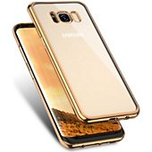 Coque Quick Shot Coque SAMSUNG Galaxy S8+ Chrome OR