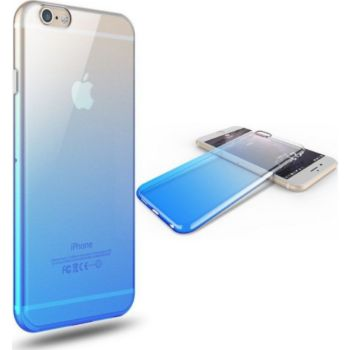 Shot Case Coque Silicone IPHONE 8 Bi-color BLEU