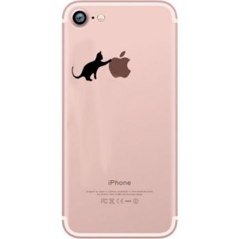 Shot Case Coque Silicone IPHONE 8 Chat Fun