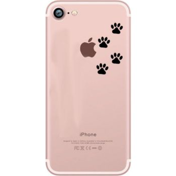 Shot Case Coque Silicone IPHONE 8 Pattes de Chat