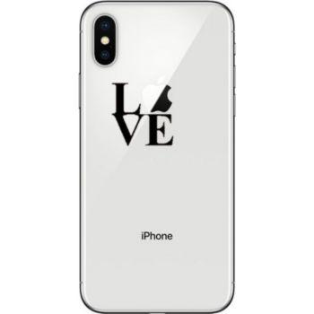Shot Case Coque Silicone IPHONE Xs Love