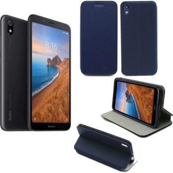 Xeptio Xiaomi Redmi 7A Etui bleu Slim
