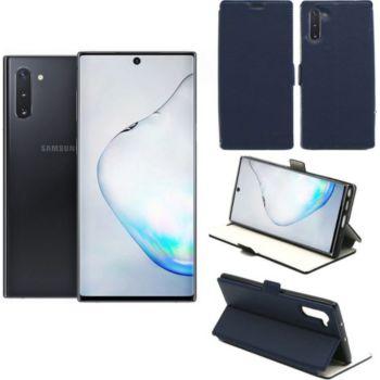 Xeptio Samsung Galaxy Note 10 Etui bleu Slim