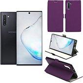 Housse Xeptio Samsung Galaxy Note 10 Etui violet Slim