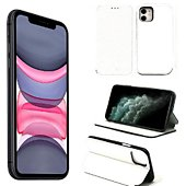 Housse Xeptio Apple iPhone 11 Etui blanc Slim