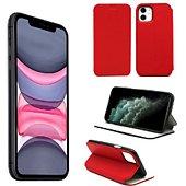 Housse Xeptio Apple iPhone 11 Etui rouge Slim