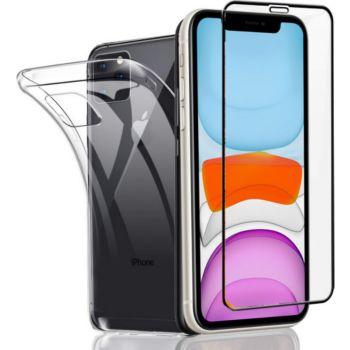 Xeptio Apple iPhone 11 PRO tpu et full noir