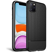 Coque Xeptio Apple iPhone 11 Pro Max antichoc noire