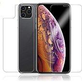 Protège écran Xeptio Apple iPhone 11 Pro Max face et arrière