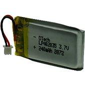 Batterie casque Otech pour PLANTRONICS CS520A