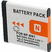 Batterie camescope Otech pour SONY DSC-W710 / P