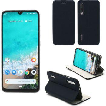Xeptio Xiaomi Mi 9 LITE Etui bleu Slim