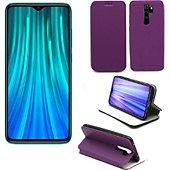 Housse Xeptio Xiaomi Redmi Note 8 PRO Etui violet Slim