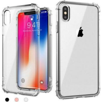 Quick Shot Coque Silicone Anti-Chocs IPHONE X APPLE