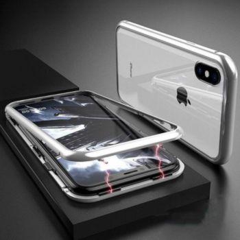 Shot Case Coque Verre Trempe IPHONE Xs Max (BLANC)
