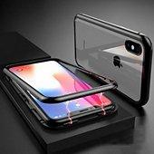 Coque intégrale Shot Case Coque Verre Trempe IPHONE Xr (NOIR)