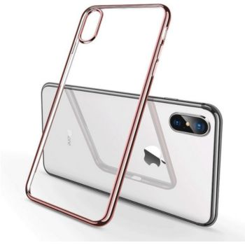 Shot Case Coque IPHONE Xr Chrome (ROSE)