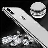 Coque Shot Case Coque Diamants IPHONE Xr (ARGENT)