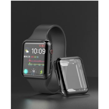 Quick Shot Coque Silicone 38mm pour IWATCH Serie AP