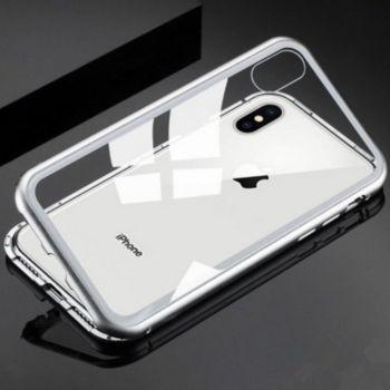 Shot Case Coque Verre Trempe IPHONE 8 + (BLANC)