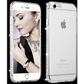 Coque Shot Case Coque Diamants IPHONE 7 (ARGENT)