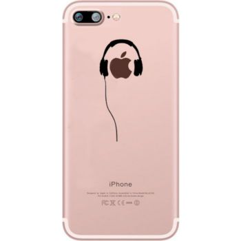 Quick Shot Coque Silicone IPHONE 11 Casque Fun APPL