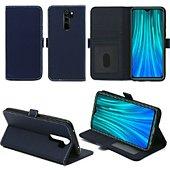Housse Xeptio Redmi Note 8 PRO portefeuille bleu