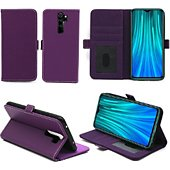 Housse Xeptio Redmi Note 8 PRO portefeuille violet