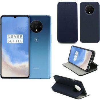 Xeptio One Plus 7T Etui bleu Slim