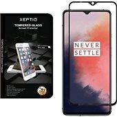 Protège écran Xeptio One Plus 7T vitre noir