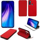 Housse Xeptio Xiaomi Redmi Note 8T Etui rouge Slim