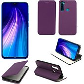 Housse Xeptio Xiaomi Redmi Note 8T Etui violet Slim