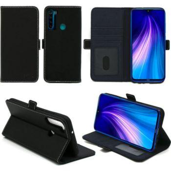 Xeptio Redmi Note 8T portefeuille noir