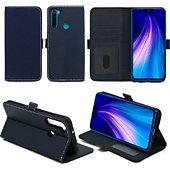 Housse Xeptio Redmi Note 8T portefeuille bleu