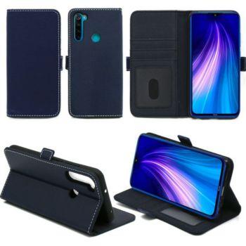 Xeptio Redmi Note 8T portefeuille bleu