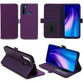 Housse Xeptio Redmi Note 8T portefeuille violet