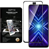 Protège écran Xeptio Huawei Honor 9X vitre noir