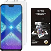 Protège écran Xeptio Huawei Honor 8X verre trempé