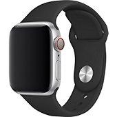 Bracelet Xeptio Bracelet noir Apple watch 44mm