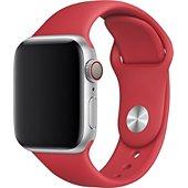 Bracelet Xeptio Bracelet rouge Apple watch 44mm