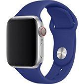 Bracelet Xeptio Bracelet bleu Apple watch 38mm