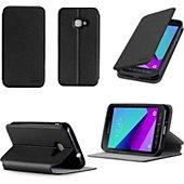Housse Xeptio Etui Samsung Galaxy Xcover 4 4G noir