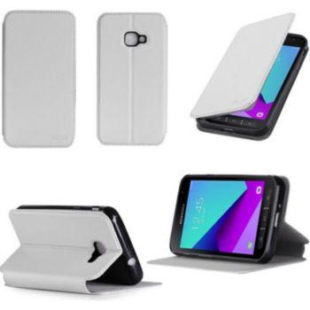 Xeptio Etui Samsung Galaxy Xcover 4 4G blanc
